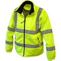 Scan Hi Vis Fleece Jacket