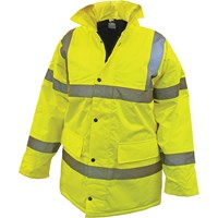 Scan High Vis Motorway Jacket