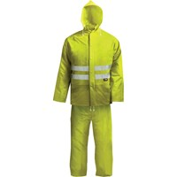 Scan High Vis 2 Piece Waterproof Rain Suit