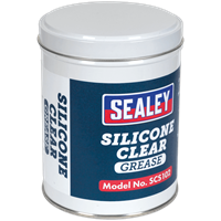 Sealey Silicone Clear Grease