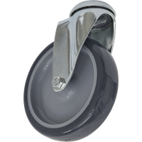 Sealey Bolt Hole Swivel Castor Grey