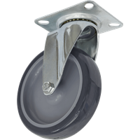 Sealey Swivel Plate Castor Grey