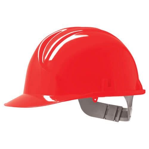 Standard Safety Hard Hat Helmet Red