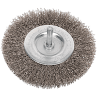Sealey Flat Stainless Steel Wire Brush