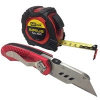 Sirius Tuff Jack Tape Measure & Knife Set