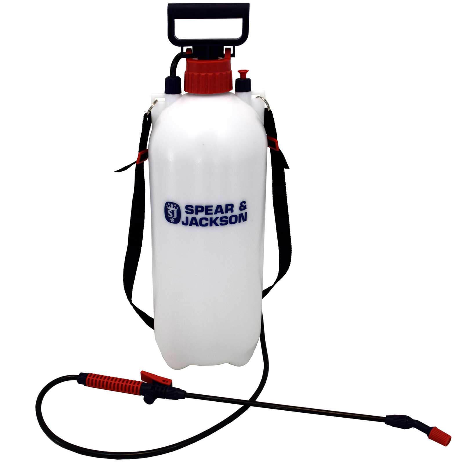 Spear and Jackson Pump Action Pressure Sprayer 8l