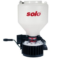 Solo 421 PRO Manual Crank Feed, Grass, Seed & Salt Drop Spreader