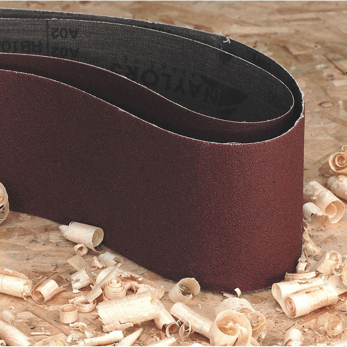Image of Sealey 150mm x 1220mm Sanding Belt 150mm x 1220mm 80g Pack of 1