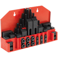 Sealey 52 Piece Clamping Kit for Drilling and Milling Machines