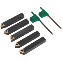 Sealey 5 Piece Indexable 10mm Turning Tool Set
