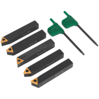 Sealey 5 Piece Indexable 8mm Turning Tool Set