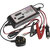 Sealey SMC03 Compact Auto Digital Battery Charger