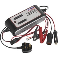 Sealey SMC04 Compact Automatic Battery Charger