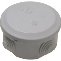 SMJ IP44 5 Terminal Round Junction Box