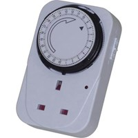 Smj Basix 24 Hour Mechanical Plug In Timer