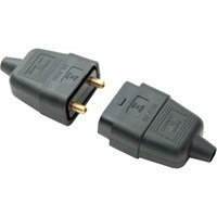 SMJ 10Amp 3Pin Rubber Plug and Socket