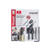 Trend Snappy 3 Piece No10 Plug Cutter Screw Set