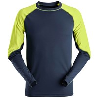 Snickers 2405 Neon Long Sleeve T-shirt