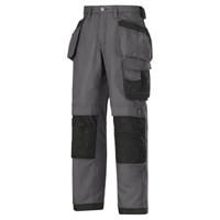 Snickers 3214 Mens Canvas+ Craftsmen Holster Pocket Trousers