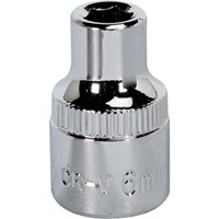 "Sealey 3/8"" Drive Hexagon WallDrive Socket Metric"