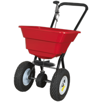 Sealey SPB37W Push Feed, Grass and Salt Broadcast Spreader