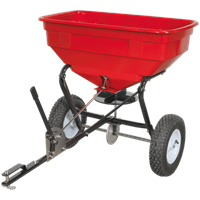 Sealey Tow Behind Feed, Grass and Salt Broadcast Spreader
