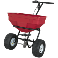 Sealey Push Feed, Grass and Salt Broadcast Spreader