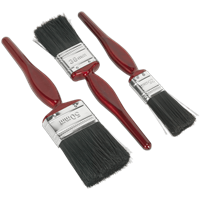 Sealey 3 Piece General Purpose Paint Brush Set