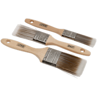 Sealey 3 Piece Paint Brush Set
