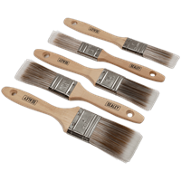 Sealey 5 Piece Paint Brush Set