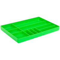 Sealey Tool and Parts Organizer Hi Vis Green