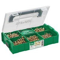 Spax 650 Piece Assorted Screw Pack & Bit Set in L-BOXX