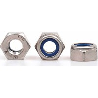 Sirius A4 316 Stainless Steel Nyloc Nuts