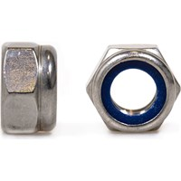 Sirius A2 304 Stainless Steel Hexagon Lock Nuts