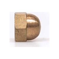 Sirius Brass Hexagon Dome Nuts