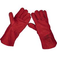 Sealey Lined Leather Welding Gauntlets