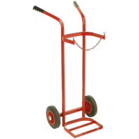 Sealey Welding Single Gas Bottle Trolley