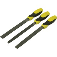 "Stanley 3 Piece File Set 8"" / 200mm"