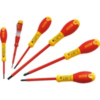 Stanley FatMax 6 Piece VDE Insulated Screwdriver Set