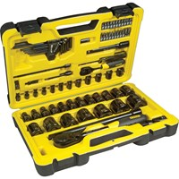 Stanley Tech 3 78 Piece Combination Drive Socket Set Metric