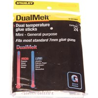 Stanley Dual Temp Mini Glue Sticks