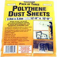 Stanley Polythene Dust Sheets