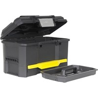 Stanley One Touch Plastic Tool Box