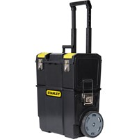 Stanley 2 in 1 Mobile Work Centre Tool Box Stack