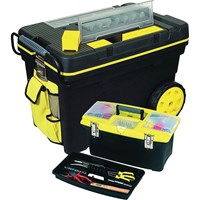 Stanley Mobile Chest & Jumbo Tool Box Set