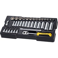 "Stanley 36 Piece 3/8"" Drive Socket Set Module"