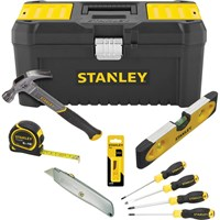Stanley 7 Piece Essential Hand Tool Kit