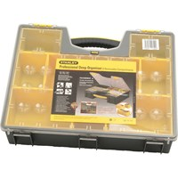 Stanley Professional 8 Compartment Deep Organiser Box
