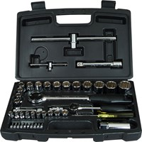Stanley 50 Piece Combination Drive Socket & Bit Set Metric