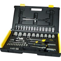 Stanley 65 Piece Combination Drive Socket Set Metric